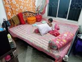Rod iron bed