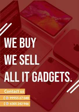 We buy We Sell Service All IT Gadgets MacBook Laptop