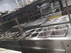 All kitchen equipment South 2burner North Chinese stav, ext