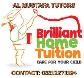 Home Tutors Male & Female available For O/A Levels,KG-XII,IELTS,GMAT