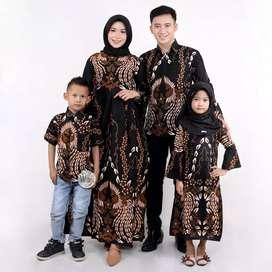 Jual couple family batik