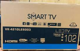 New led tv 32 inch smart TV with 2year warranty home delivery free