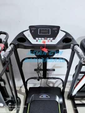Ready treadmill elektrik tampilan terbaru 1,5hp manual incline