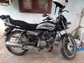 Hero honda splendor with selfstart.
