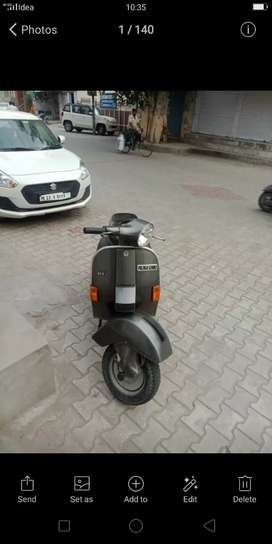 Vespa scooter without any scratch