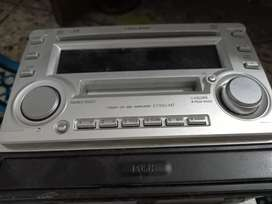 Car speakers and cd player