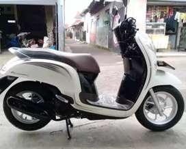 Dp 900ribu Cash/kredit Honda scoopy putih.asli Bali((DK)