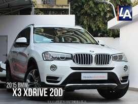BMW X3 xDrive20d xLine, 2015, Diesel
