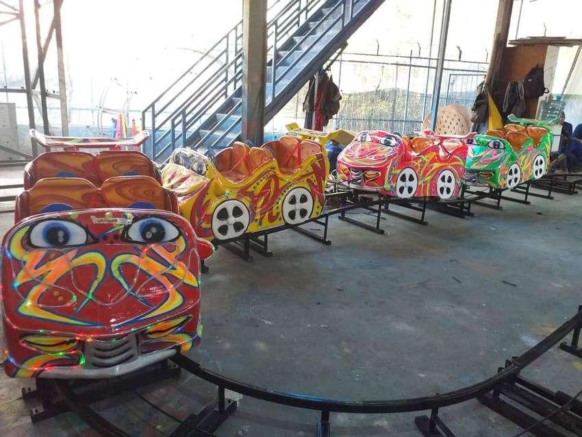 odong kereta lantai mini coaster produsen odong odong DCN 0