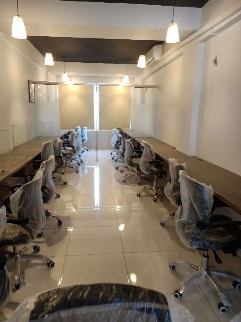 VIP FULL FURNISHED OFFICE FOR RENT BACK UP GENERATOR LIFT 24/7Timing 0