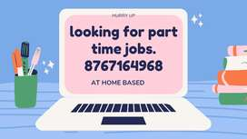Online students required for online part time job