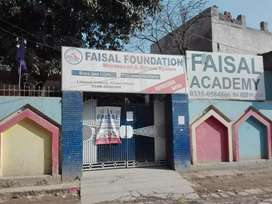 Running school for sale with building furniture all setup