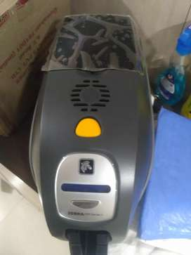 P v c card printer