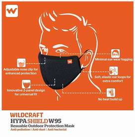 ORIGINAL BRAND NEW  WILDCRAFT MASK ONLY RS 160