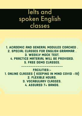 Ielts and English spoken course