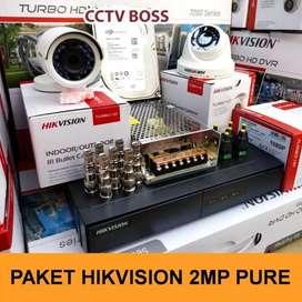 Best produk CCTV Hikvision 4 channel 2Mp