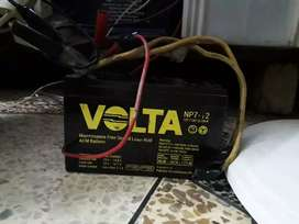 Original betry 7 ampair few days used for all bikes