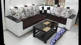 Newly Atractive corner sofa set direct factory sell and whole sell