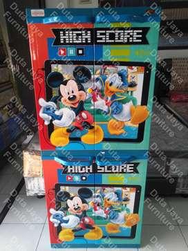 Lemari Plastik Naiba Super Cabinet Mickey Mouse