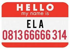 Nomor sakti ELA sesuai nama 314