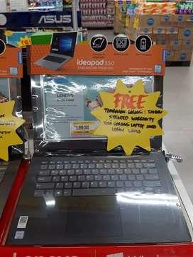 Kredit Laptop Lenovo IP130 Intel Core I3