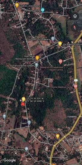 1900 meter square settlement plot - Nakellim, South Goa