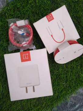One plus dash charger with cable original brand new