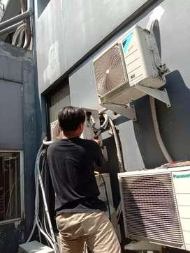 Menyediakan sgala merek AC baru..menerima bngkar psang dn maintenance