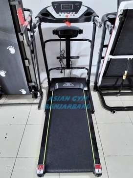 Ready treadmill elektrik 1,5hp tampilan terbaru 3 fungsi bergaransi