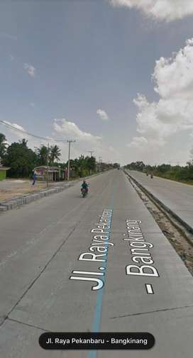 DIJUAL TANAH di RIMBO PANJANG KM 19 (SHM) 17.360