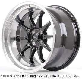 HIROSHIMA 756 HSR R17X9/10 H4x100 ET30 BML