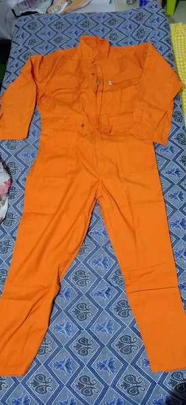 Boiler cotten suit