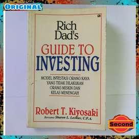 Buku Rich Dad's Guide To Investing Original By Robert Kiyosaki