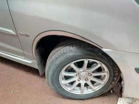 Innova wheel arch chrome SS good quality