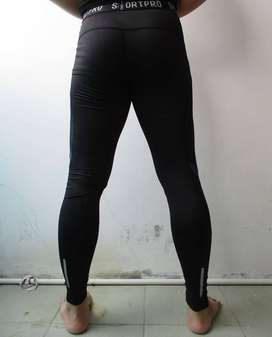 Celana Panjang Baselayer Nike Pro Combat Jogging Gym Futsal dll - Hita