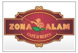 Lowongan Kerja Zona Alam Cafe & Resto