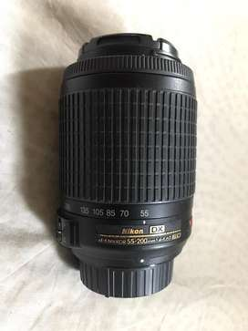 Nikon 55-200mm Telephoto Zoom Lens
