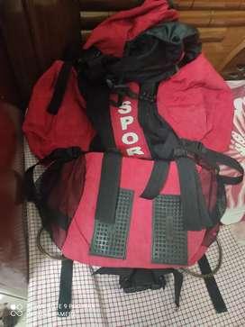 Haversack or shoulder bag for tracking
