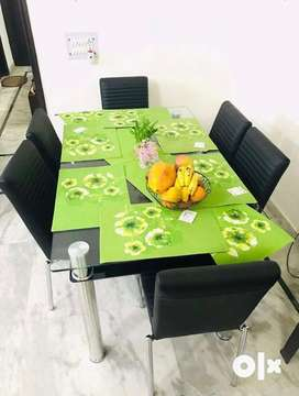 Dining Table with 6 Seater Chairs