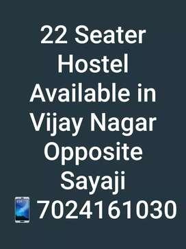 22 Seater Hostel/Guest House available in Vijay Nagar