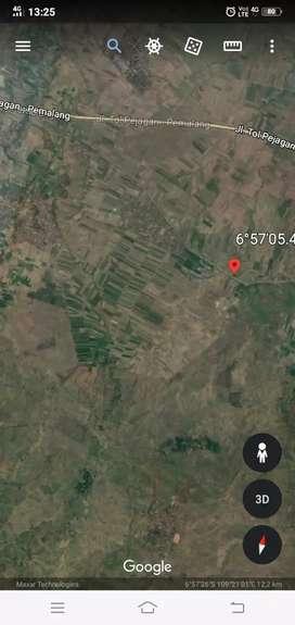 Dijual lahan zona industri 60ha murah