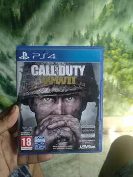 Call of Duty World War 2 ps4 (cash or exchange)