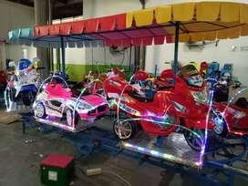 Spesial odong perosotan fiber glass kereta mini panggung RAA