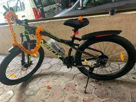 Hardly used gear bicycle for sale