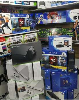 All Variants Of Gaming Console with Warranty and Games