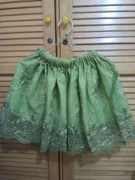 Baju Pesta Anak Perempuan set atasan bawahan