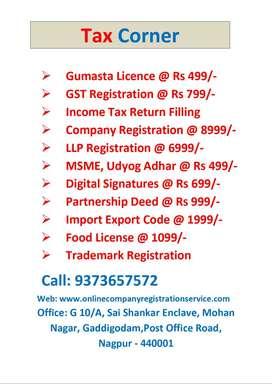 Gumasta / GST / Income Tax