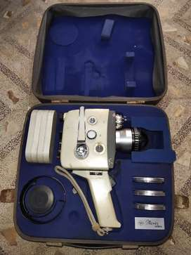 old antique rare vintage video camera of agfa