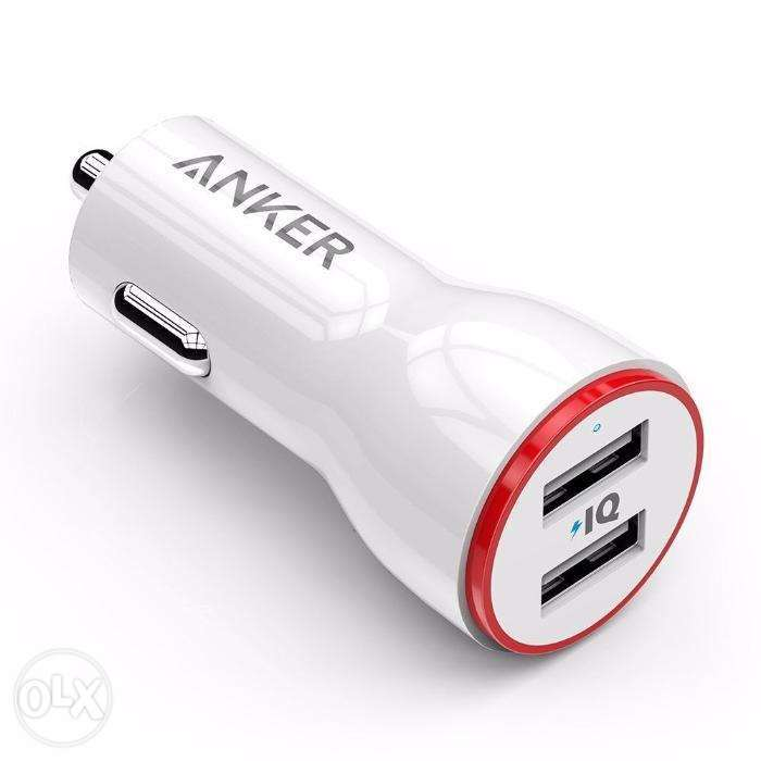 Anker PowerDrive 2 Car Charger 24 Watt 4.8A Free Delivery 0
