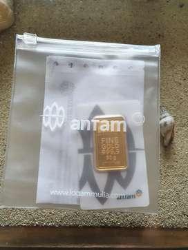Emas logam mulia antam 50gr certicard certieye